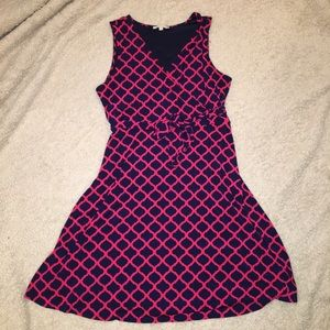 Hawthorn Red and Blue Dress